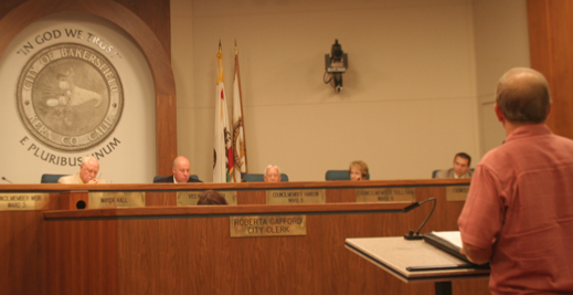 Solemn Appeal presented to Bakersfield City Council